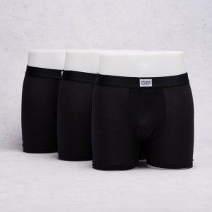 Frank Dandy 3-Pack Cotton Boxer Black