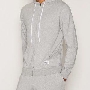 Frank Dandy Bamboo Hoodie Loungewear Grey Melange