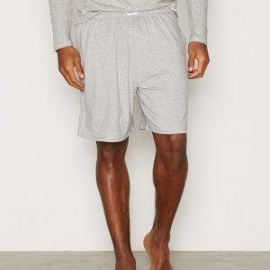 Frank Dandy Bamboo Lounge Shorts Loungewear Grey Melange