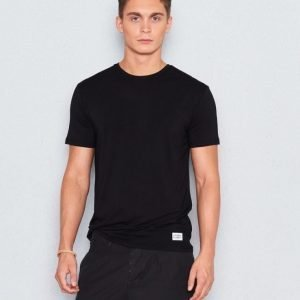 Frank Dandy Bamboo Solid Tee Black