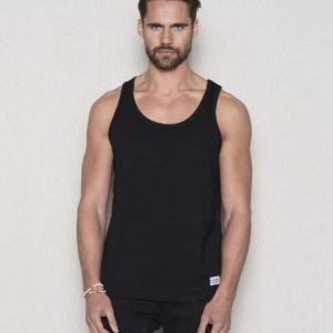 Frank Dandy Bamboo Tank Top Black