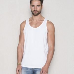 Frank Dandy Bamboo Tank Top White
