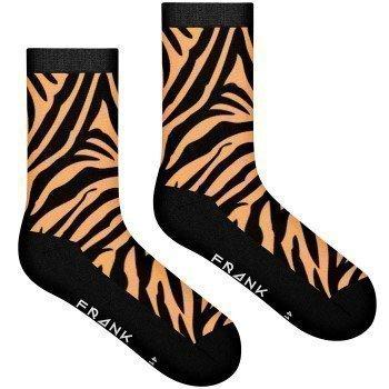 Frank Dandy Bamboo Tiger Crew Sock