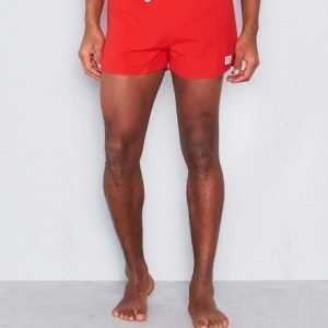 Frank Dandy Breeze Swim Shorts Red