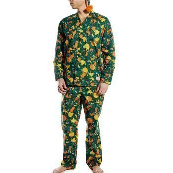 Frank Dandy Oranges Pyjama Set Green