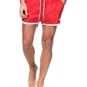 Frank Dandy Saint Oaul Swim Shorts Red/White Red