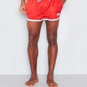 Frank Dandy St. Paul Swim Shorts Red