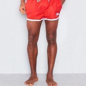 Frank Dandy St. Paul Swim Shorts Red