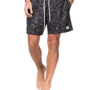 Frank Dandy Starsign Bermuda Shorts Black