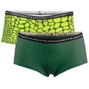 Frank Dandy Womens Crocodile Boxers 2 pakkaus