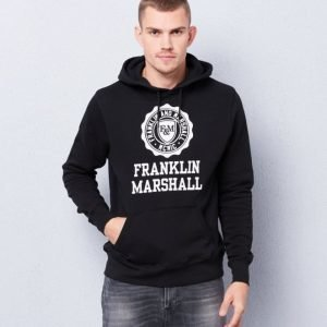 Franklin & Marshall Basic Hood Black