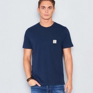 Franklin & Marshall Basic Pocket Tee Navy