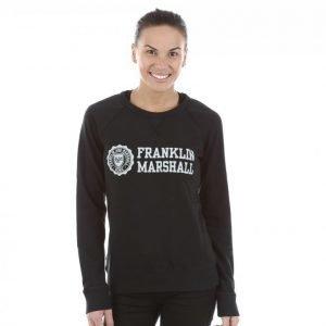 Franklin & Marshall Classic Logo Crewneck Pusero Musta