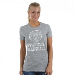 Franklin & Marshall Classic Logo Tee T-paita Harmaa