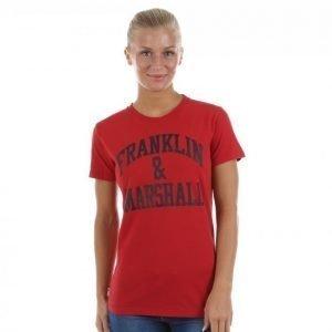 Franklin & Marshall Classic Tee T-paita Punainen