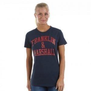 Franklin & Marshall Classic Tee T-paita Sininen