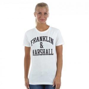 Franklin & Marshall Classic Tee T-paita Valkoinen