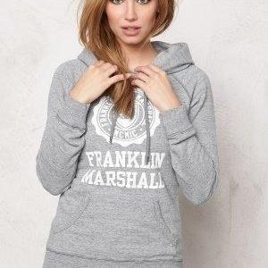 Franklin & Marshall Fleece Fleece Hoode Sport Grey