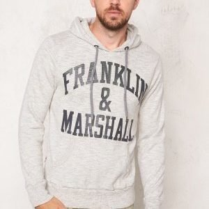 Franklin & Marshall Fleece Fleece Hoode Sport Grey Mel