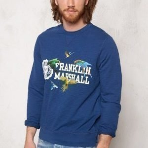 Franklin & Marshall Fleece Fleece Round Original Blue