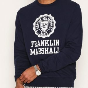 Franklin & Marshall Fleece Fleece Round Pusero Navy