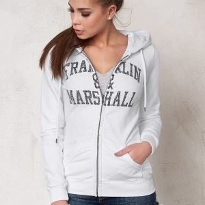 Franklin & Marshall Fleece Fleece Zip White