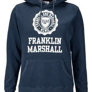 Franklin & Marshall Fleece Hood 167 Navy