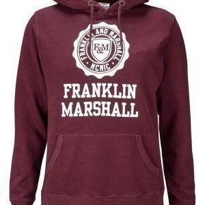Franklin & Marshall Fleece Hood 656 Amaranto