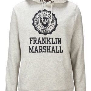 Franklin & Marshall Fleece Hood Original Grey
