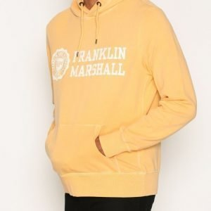 Franklin & Marshall Fleece Hooded Huppari Sand Beige