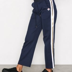 Franklin & Marshall Fleece Pants Uni Housut Navy