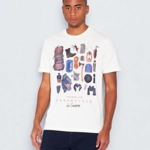 Franklin & Marshall Hiking Tee Old White