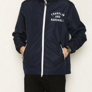 Franklin & Marshall Jacket Nylon Zip Takki Navy
