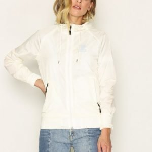 Franklin & Marshall Jackets Nylon Zip Parkatakki White