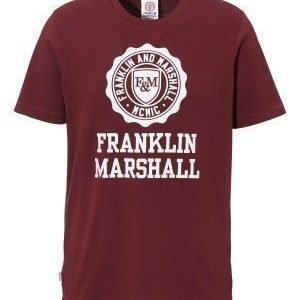 Franklin & Marshall Jersey T-Shirt 656 Bordeaux