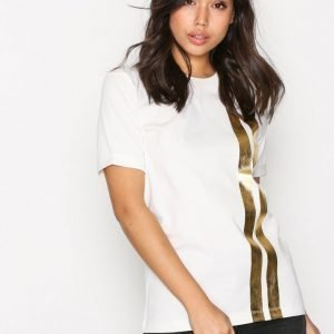 Franklin & Marshall Jersey T-Shirt T-Paita White