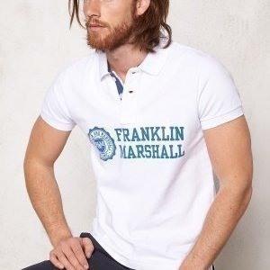 Franklin & Marshall Polo Piquet Classic White