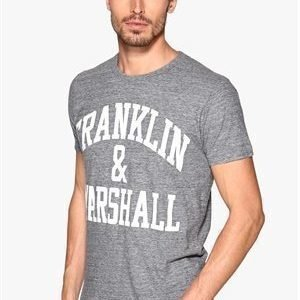 Franklin & Marshall T-Shirt Black Melange