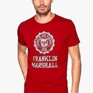 Franklin & Marshall T-Shirt Cardinal