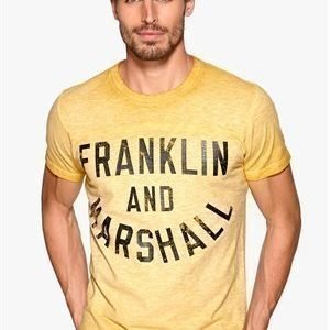 Franklin & Marshall T-Shirt Vintage Gold