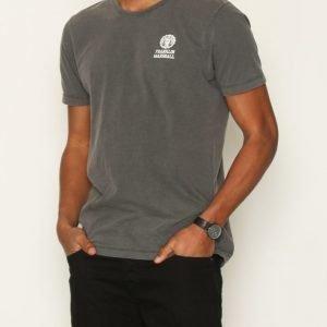 Franklin & Marshall T-shirt Jersey Round T-paita Musta