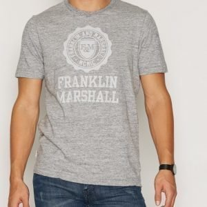 Franklin & Marshall TSMVA223 T-paita Grey