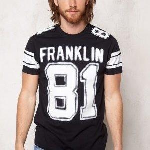 Franklin & Marshall Tshirt Jersey Round Black