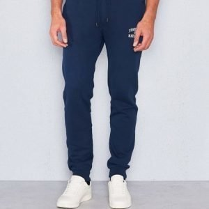 Franklin & Marshall Logo Pant Navy
