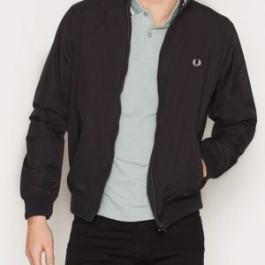 Fred Perry Brentham Jacket Takki Black