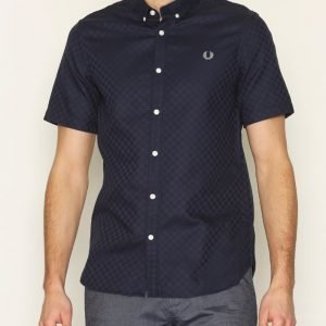 Fred Perry Chequerboard Shirt Kauluspaita Night