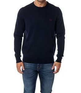 Fred Perry Classic Crew Neck Dark Carbon