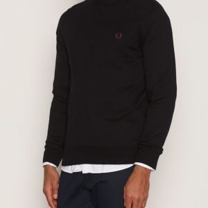 Fred Perry Classic Crew Neck Pusero Black