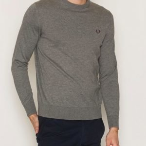 Fred Perry Classic Crew Neck Pusero Grey Marl