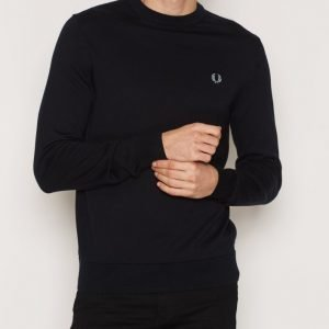 Fred Perry Classic Crew Neck Pusero Navy